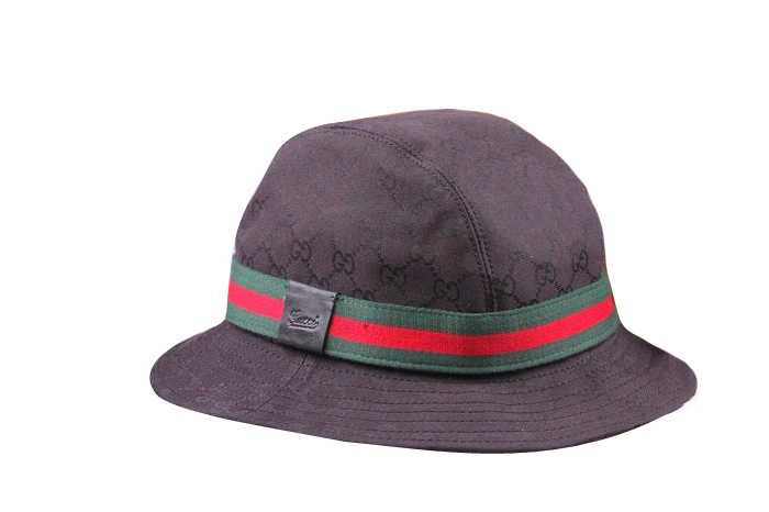e8621547408cff Gucci Fedora Hat with Embossed Trademark Black